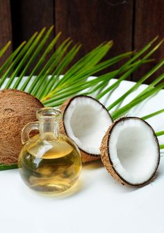 Coconut Oil is used in chemically damaged, weak hair (restores hair texture, moisturize, nourish hair, gives shine to them).