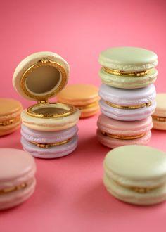 Jewels: box, pastel, macarons, cake, purple, mint, yellow, pink ...