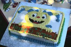 Henry Hugglemonster Birthday Cake