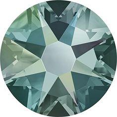 49aaaed8f086 2058   2088 Swarovski Flatback Crystals Non Hotfix Black Diamond Shimmer -  Pack of 50 Bluestreak Crystals