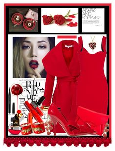 """""""Valentine's Day"""" by jakenpink ❤ liked on Polyvore featuring Keepsake the Label, Victoria Beckham, Tod's, Givenchy, Miu Miu, Halcyon Days, DKNY, Marc Jacobs, women's clothing and women"""