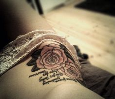 (9) hip tattoo   Tumblr - placement