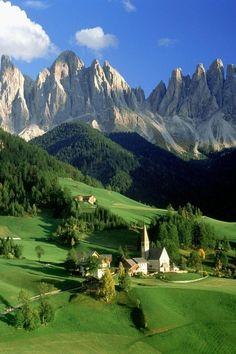.      The Dolomites, Italy