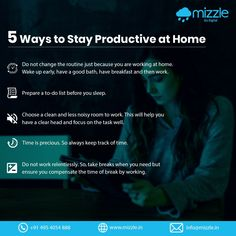 Working at home isn't as good as working at the office. However, you can efficiently work at your home too. Here are some ways to make your working spell at home productive. Mobile Application Development, Design Development, Web Platform, Social Environment, Best Web Design, Web Design Company, How To Wake Up Early, Cool Websites, Internet Marketing