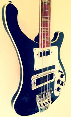 1975 RICKENBACKER 4001 BASS - the coolest looking Bass guitar!