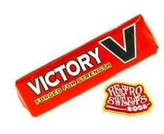 Victory V's ... also reminds me of childhood