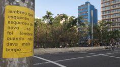 lambe lambe de Laura Guimarães - microrroteiros da cidade