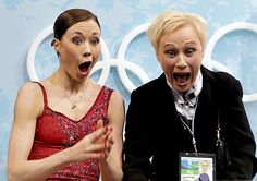 Laura Lepistö and her coach Virpi Horttana amazed about new record :D European Championships, Skates, World Championship, Role Models, Olympics, Templates, World Cup