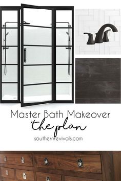 Our master bath remo