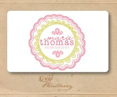 Cute logo, reminds me of a doily. :)