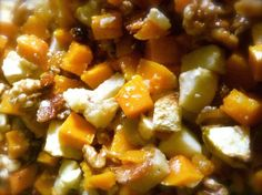 Make a Butternut Squash Casserole with Apples & Raisins: Butternut Squash & Apple Casserole