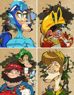 Video Game Warriors