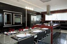 cozinhas planejadas para espaço gourmet