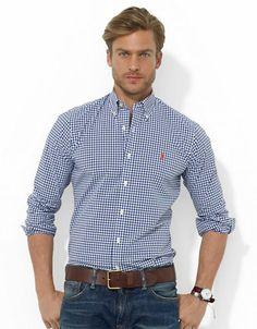 Men's | Casual Shirts | Custom-Fit Checked Sport Shirt | Hudson's Bay