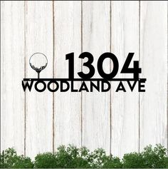 Golf Bag Vertical House Address Personalized Cut Metal Sign 25062110 - Cut Metal Sign - 1mm Black / Background / 24 X 24 inch