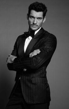 David Gandy from the book: David Gandy by Dolce & Gabbana. Photos / Mariano Vivanco.