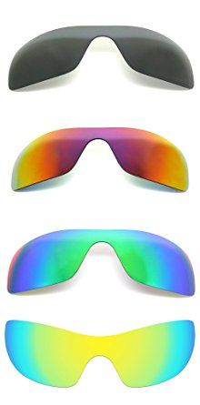 7b4dd4ca217 Set of 4 Polarized Replacement Lenses for Oakley Batwolf Sunglasses  NicelyFit Review Oakley Batwolf