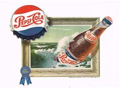 1950s Pepsi Advertising Art Related Keywords & Suggestions - 1950s ...
