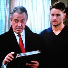 Victor explains to Chelsea that the information Adam has just given him will benefit Newman Enterprises greatly.