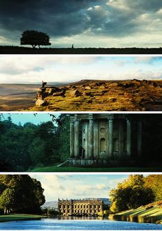 Scenes from Pride and Prejudice - such beautiful cinematography!!