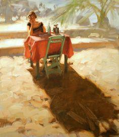 Kim English, 1957 ~ American Plein-air painter