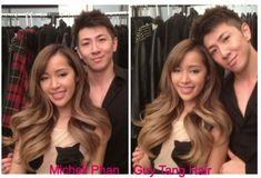 Guy Tang Creates Balayage on Make-Up Artist Michelle Phan  |  ModernSalon.com