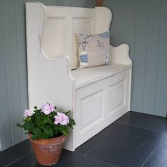 Small Monks' Bench Hand Painted In Any Colour
