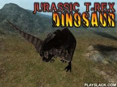 Jurassic T-Rex: Dinosaur  Android Game - playslack.com , Control a large T-Rex, the mighty dinosaur of the Jurassic period. Pre-Raphaelite disparate archosaurs. Immerse into the being of past Earth in this game for Android. During this period the planet was occupied  by large archosaurs and theropod was the mighty of them. Control the deradful attacker and lead it through deep location and large lands. appoint a target for capturing  and carefully sneak up on your victim so that it doesn't…