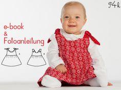 Schnittmuster Kleid Lipsia in 2 Varianten von pattern4kids - Schnittmuster für Baby- und Kinderkleider als ebook download oder klassischer Papierschnitt mit Nähanleitung und vielen Bildern auf DaWanda.com