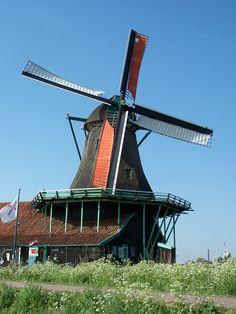 Zaanse Schans Holland - Windmills... The greatest little replica village of early Dutch life