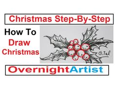 How To Draw Christmas - Card Ideas Step By Step