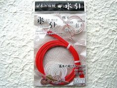 Mizuhiki Japanese Decorative Paper Strings by FromJapanWithLove, $5.00