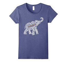 Womens Autism Elephant Novelty Tshirt Large Heather Blue A Great Present for Mom,Dad,Sister,Brother and Friends to Wear and Be Proud.Makes a Great Gift for Birthdays, Mother's Day, Father's Day, Surprise gif...  #Autism #AutismAwareness #AutismHour #AutismInMyLife #AutismParents #AutismTMI #Autistic #Blue #Elephant #Heather #Large #Novelty #TShirt #Womens