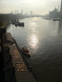 #London in the morning