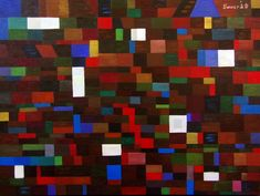 Istvan Bauer - Red stairs Contemporary Artists, Stairs, Quilts, Red, Painting, Stairways, Ladder, Comforters, Quilt Sets