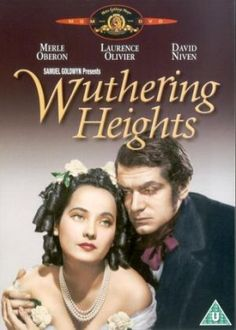 """Wuthering Heights 1939.jpg. My favorite scene.  Heath cliff and Kathy as children at the mour cliffs among the heather. Role playing he as a Persian king and her his queen, and she tells him, """"Heathcliff let's stay here forever, never leave this place. You will be my king and I your queen. Promise me Heathcliff."""""""