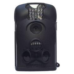 Cámara negra de la tienda espia con led invisibles, vision nocturna, 6 meses de autonomía y detección de movimiento. Realiza videos y fotografías de 12MP. Ideal para la vigilancia encubierta