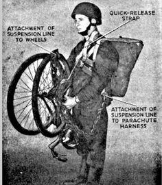 The British Bicycle Airborne (1944)