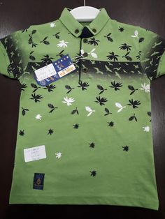 Kids Fashion Boy, Polo T Shirts, New Print, My T Shirt, Mens Tees, Shirt Designs, Boys, Toddler Fashion, Men's T Shirts