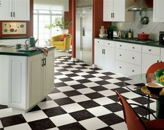 Residential Flooring | Flooring Products | Vinyl Sheet | Product: Blackwell - Ebony & White | DETAILS