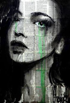 "Saatchi Art Artist Loui Jover; Drawing, ""somewhere"" #art"