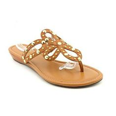 Marc Fisher Women's 'Gilded' Leather Sandals (Size 9 )