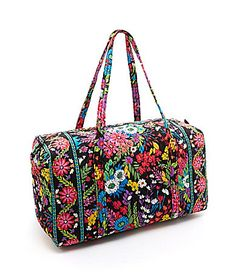 Vera Bradley Large Duffel  Dillards Pretty Backpacks 67bfc8ff2d9b5