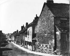 Winchester Street, Salisbury looking towards the City, date unknown. Salisbury Homes, Salisbury England, Salisbury Wiltshire, Roads And Streets, Business Design, Winchester, Old Photos, 18th Century, Community