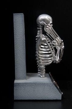 wolverine's skeleton   Posted in Collectibles , Marvel , Photography   No Comments »
