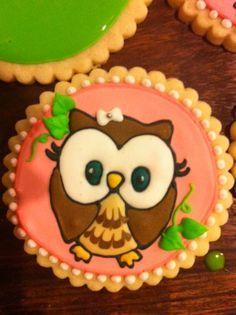 owl cookies - Google Search