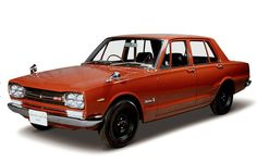 This is the 1969 Nissan Skyline GT-R. This is the first Skyline with the GT-R badge on it.