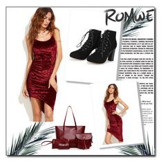 """ROMWE 3"" by fatimazbanic ❤ liked on Polyvore"