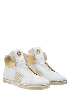 Palazzo High-Tops with Greca - Young Versace Accessories