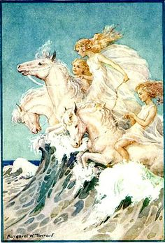 Sea Horses   By Margaret Tarrant